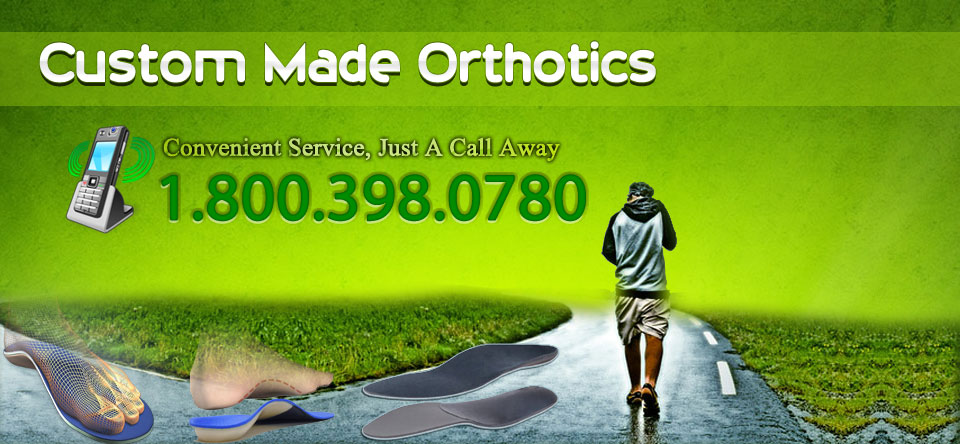cusrom made orthotics, we come to you
